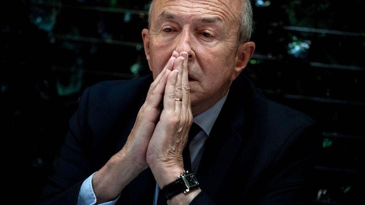 Gerard Collomb, maire sortant de Lyon, s'est vu retirer son investiture par LREM.