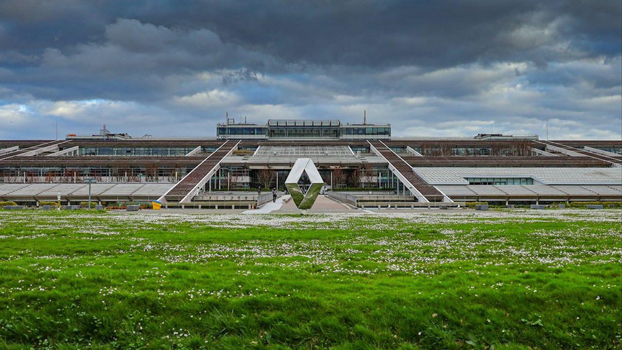 Le Technocentre de Guyancourt, dans les Yvelines, concentrera la R & D à forte valeur ajoutée de Renault.