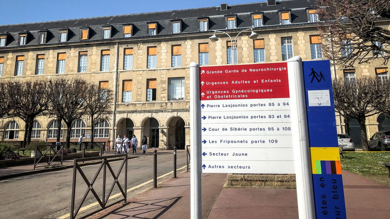 Pour mettre au point son logiciel, les partenaires ont utilisé les données de 600 patients atteints de Covid-19 hospitalisés à Bicêtre.