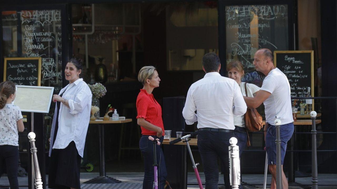 A Paris, les terrasses de bars et restaurant pourront occuper l'espace public