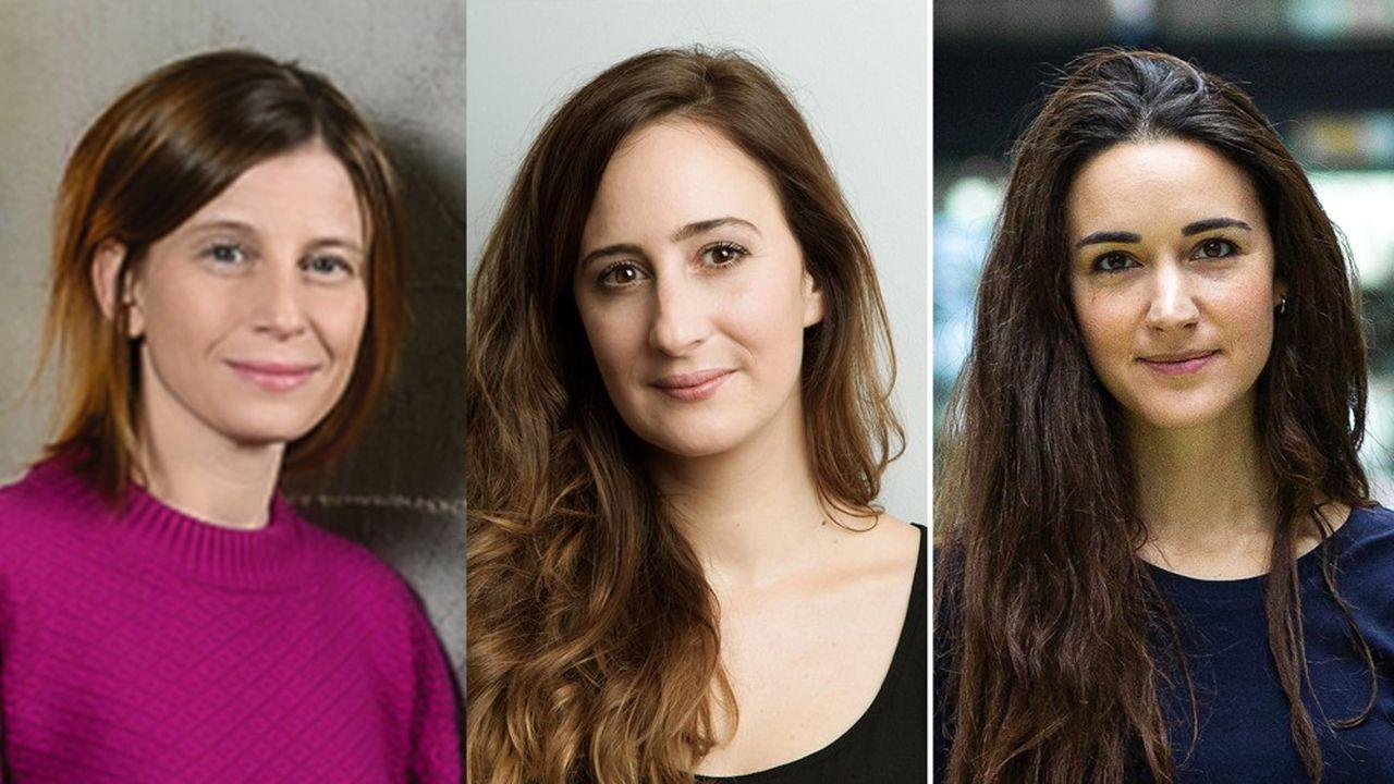 Tatiana Jama et Céline Lazorthes, cofondatrices de Sista, et Roxanne Varza, cofondatrice de StartHer, se mobiliseront désormais sous la même bannière.