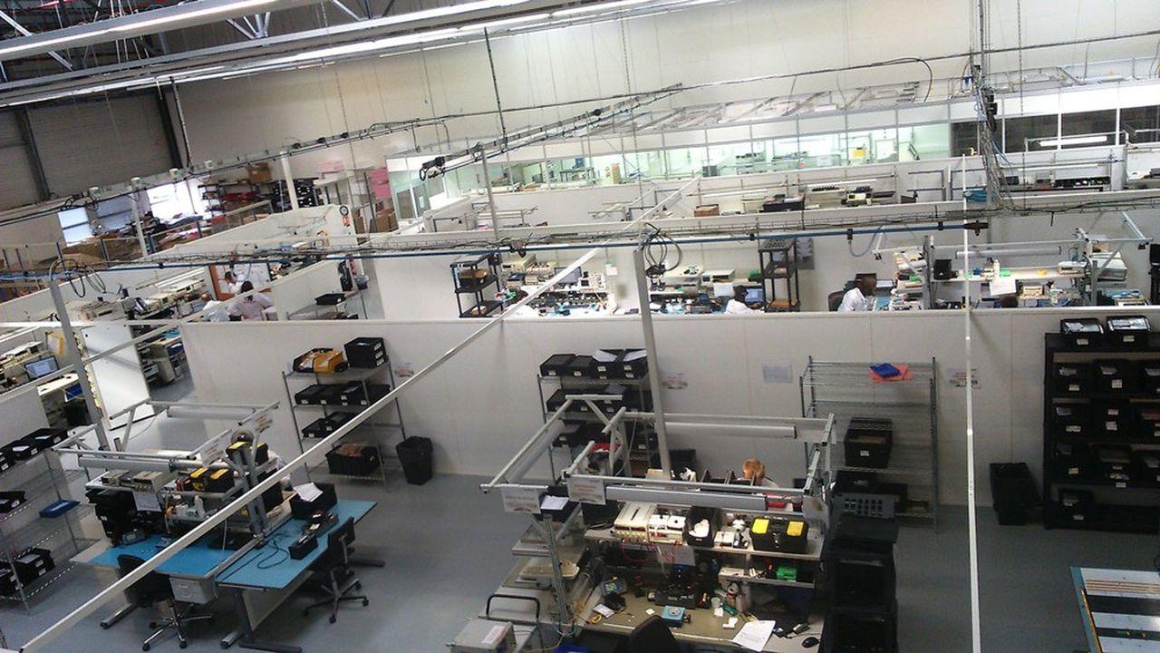 L'entreprise vient d'investir plus de 5millions d'euros dans l'extension de ses sites de Lannion et de Clermont-Ferrand.