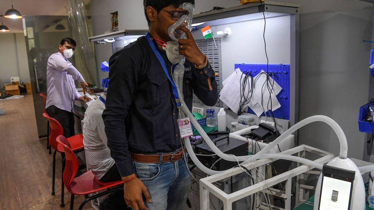 L'appareil de la société AgVa se vend actuellement autour de 2.000 dollars, là où il faut en compter au minimum 10.000 pour un respirateur traditionnel.