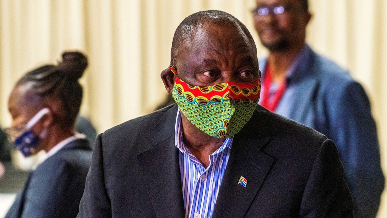 Cyril Ramaphosa, le président sud-africain, entend se servir de cette crise sans précédent pour accélérer son calendrier de réformes et créer une «nouvelle économie».