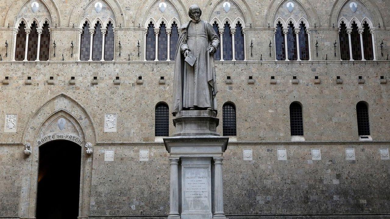 La banque Monte Dei Paschi est en négociations avec la Banque centrale européenne.