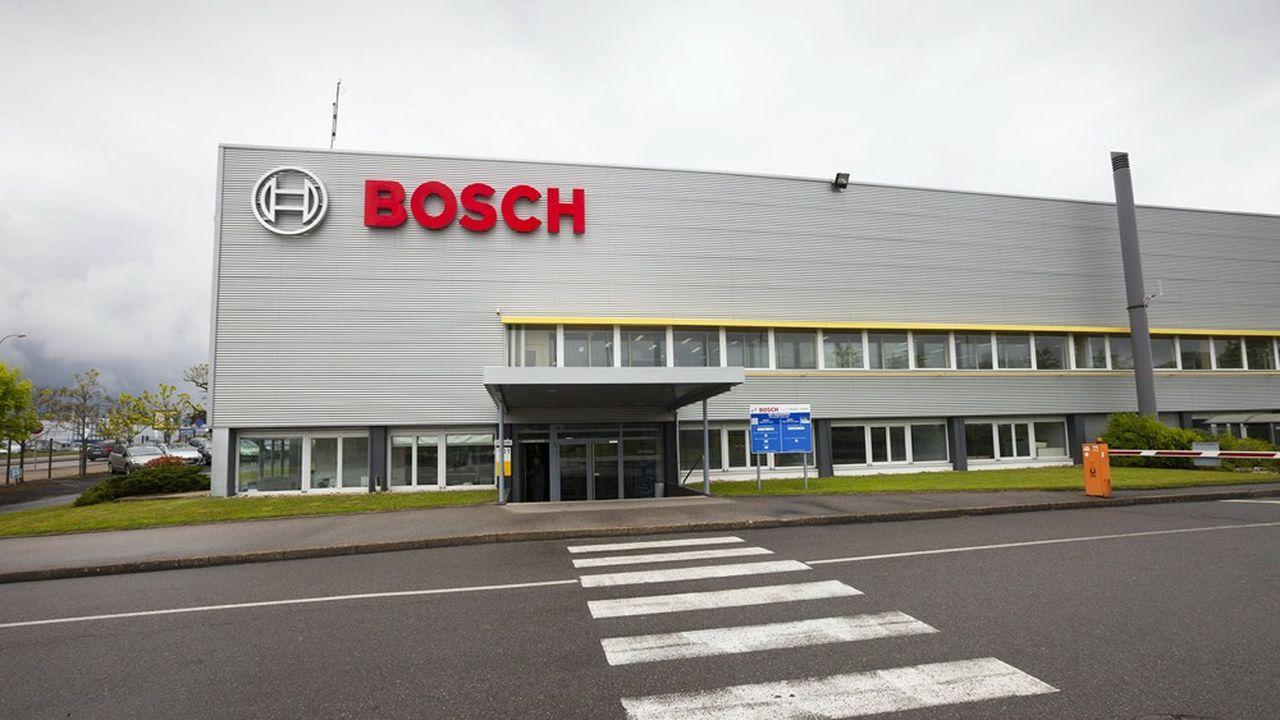 Pour relancer la production, comme ici sur le site de Moulins, «nous avons mis en place toutes les mesures nécessaires, et avons été prêts en amont de nos clients», avance Heiko Carrie, président de Bosch France Benelux.