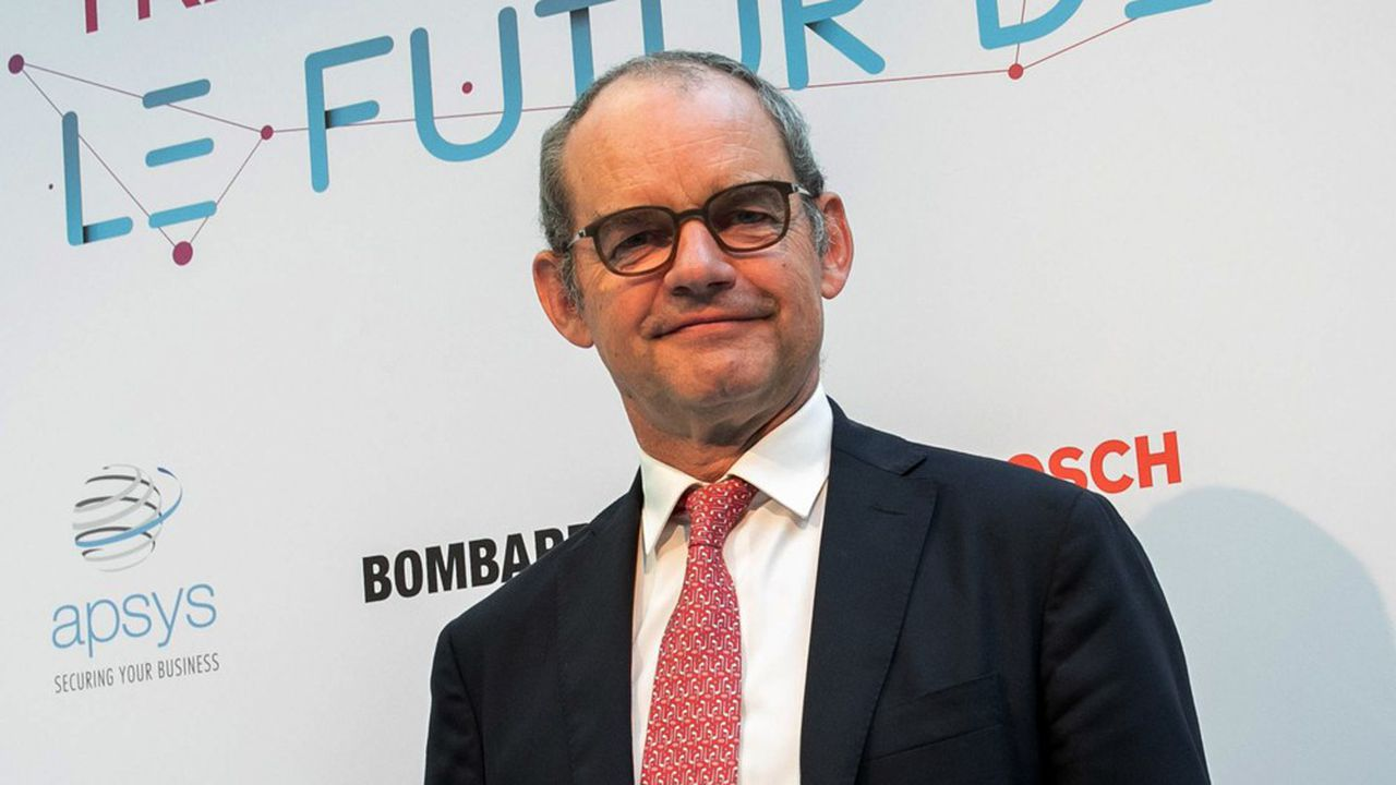Patrick Jeantet était l'ancien patron de SNCF Réseau quand il est arrivé chez Keolis, un groupe où il avait déjà travaillé dans le passé.