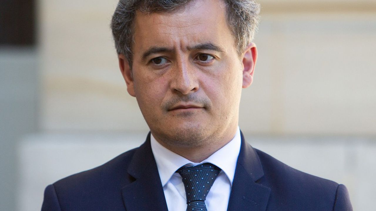 Le ministre de l'Action et des Comptes publics, Gérald Darmanin, a présenté mardi la prévision révisée de déficit 2020 de la Sécurité sociale.