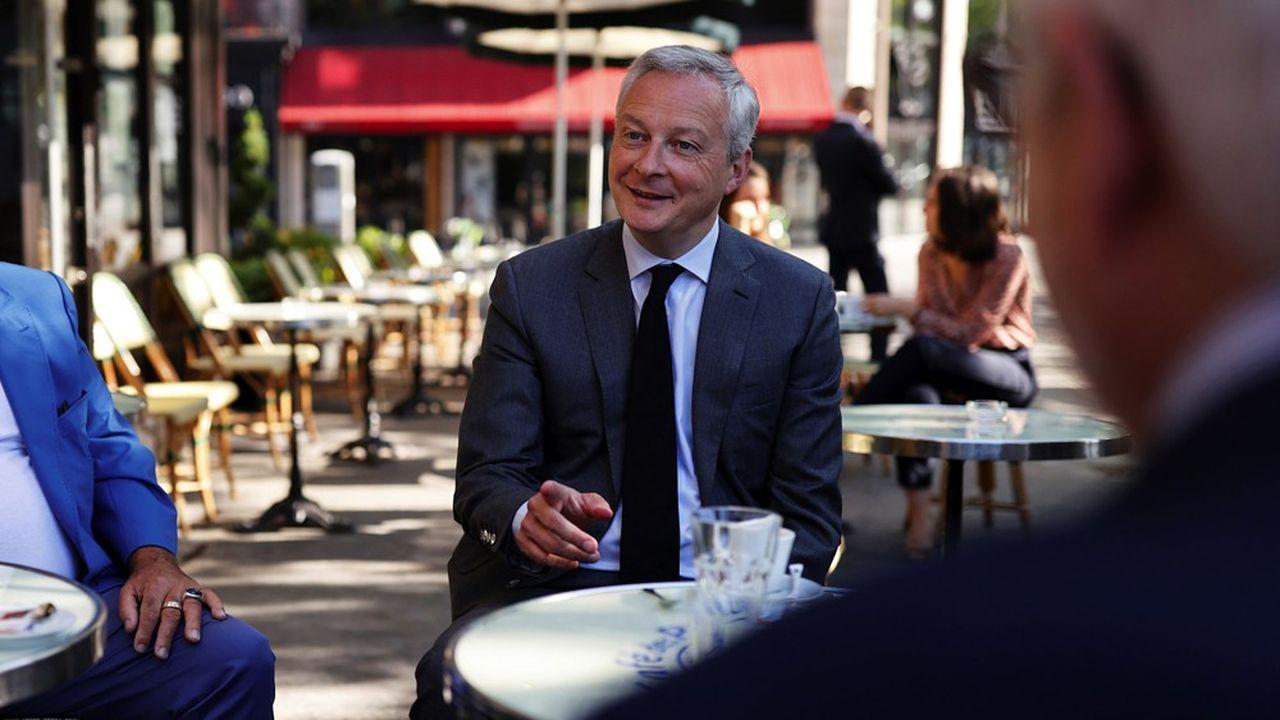Le ministre de l'Economie, Bruno Le Maire, défend la poursuite d'une politique de l'offre.