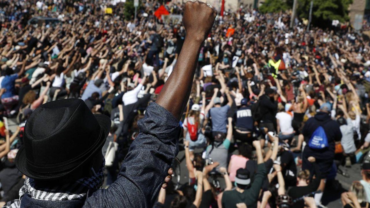 De nombreux artistes ont soutenu les manifestations contre les violences policières aux Etats-Unis.