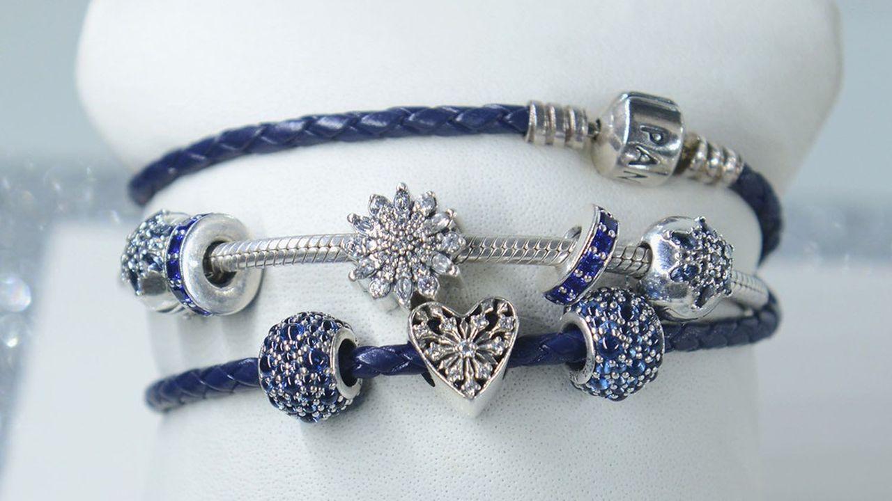 Pandora va fabriquer tous ses bijoux à partir d'or et d'argent recyclés