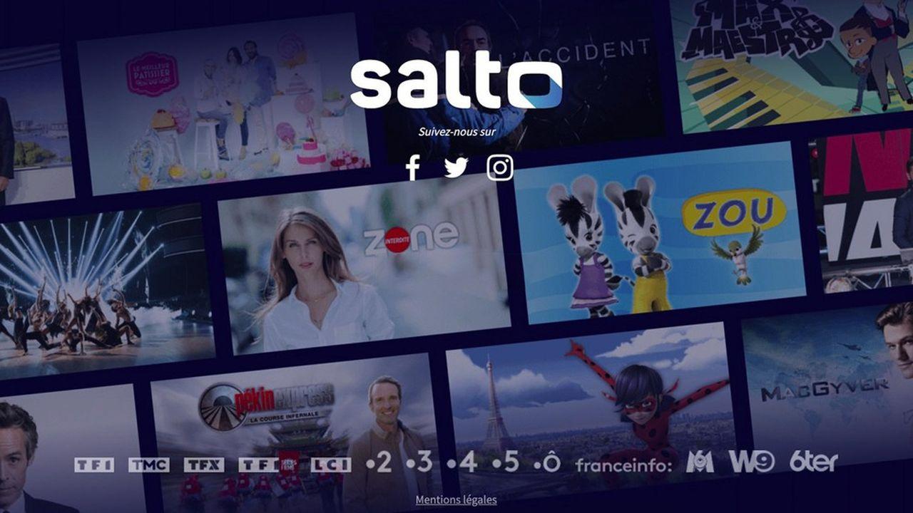 Salto proposera de la télévision en direct, du replay et des contenus inédits à la demande.