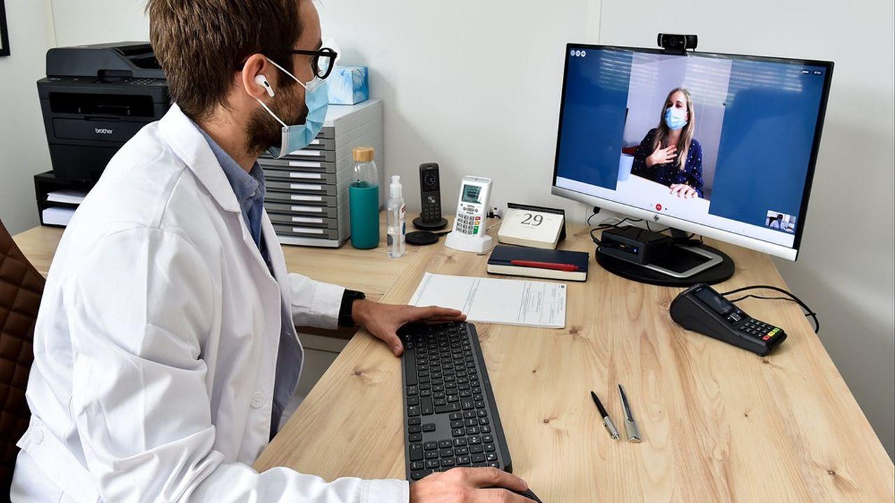 La pandémie a accéléré la digitalisation des services, profitant notamment à la télémédecine et à ses pépites tricolores présentes en Allemagne comme Doctolib.