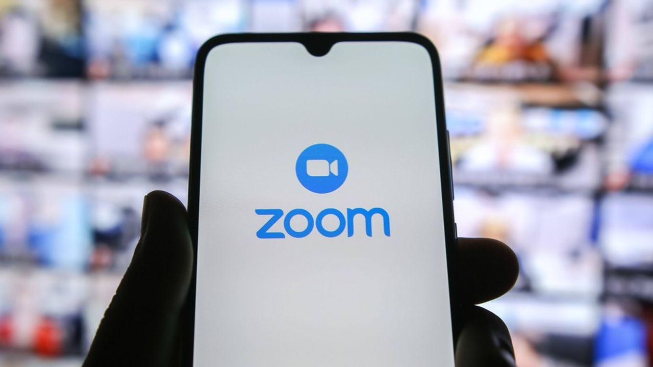 Le chiffre d'affaires de Zoom a bondi de 169% entre février et fin avril2020 par rapport à la même période de l'année précédente.