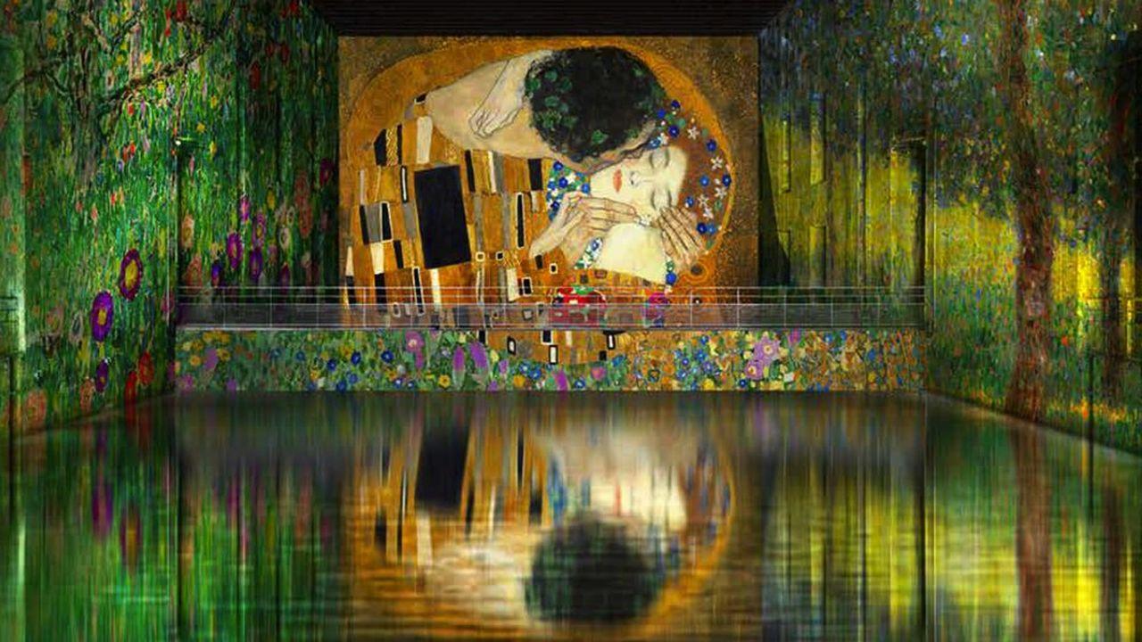La première exposition grand format dans la base sous-marine bordelaise, sera consacrée à Klimt.