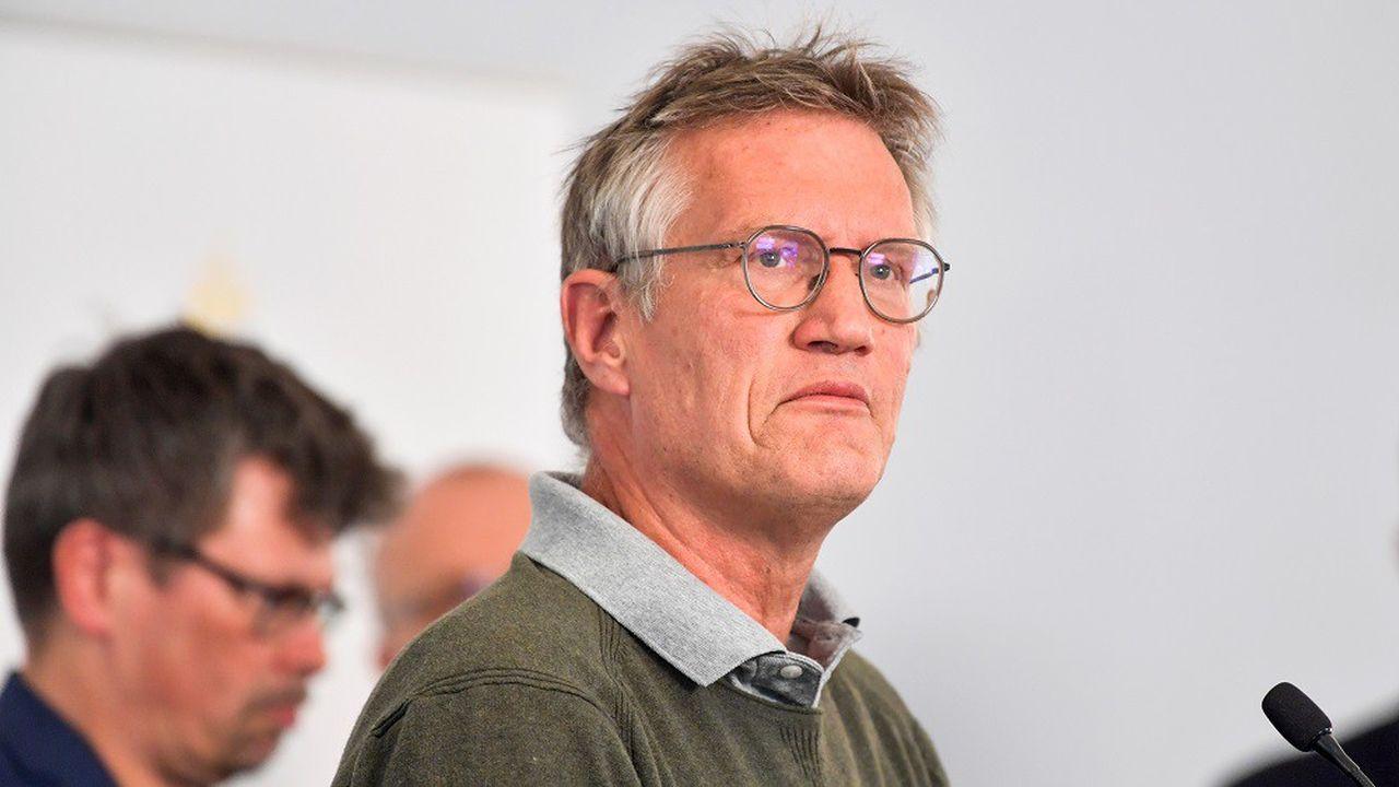Anders Tegnell est souvent présenté comme le visage de la stratégie suédoise de lutte contre le virus.