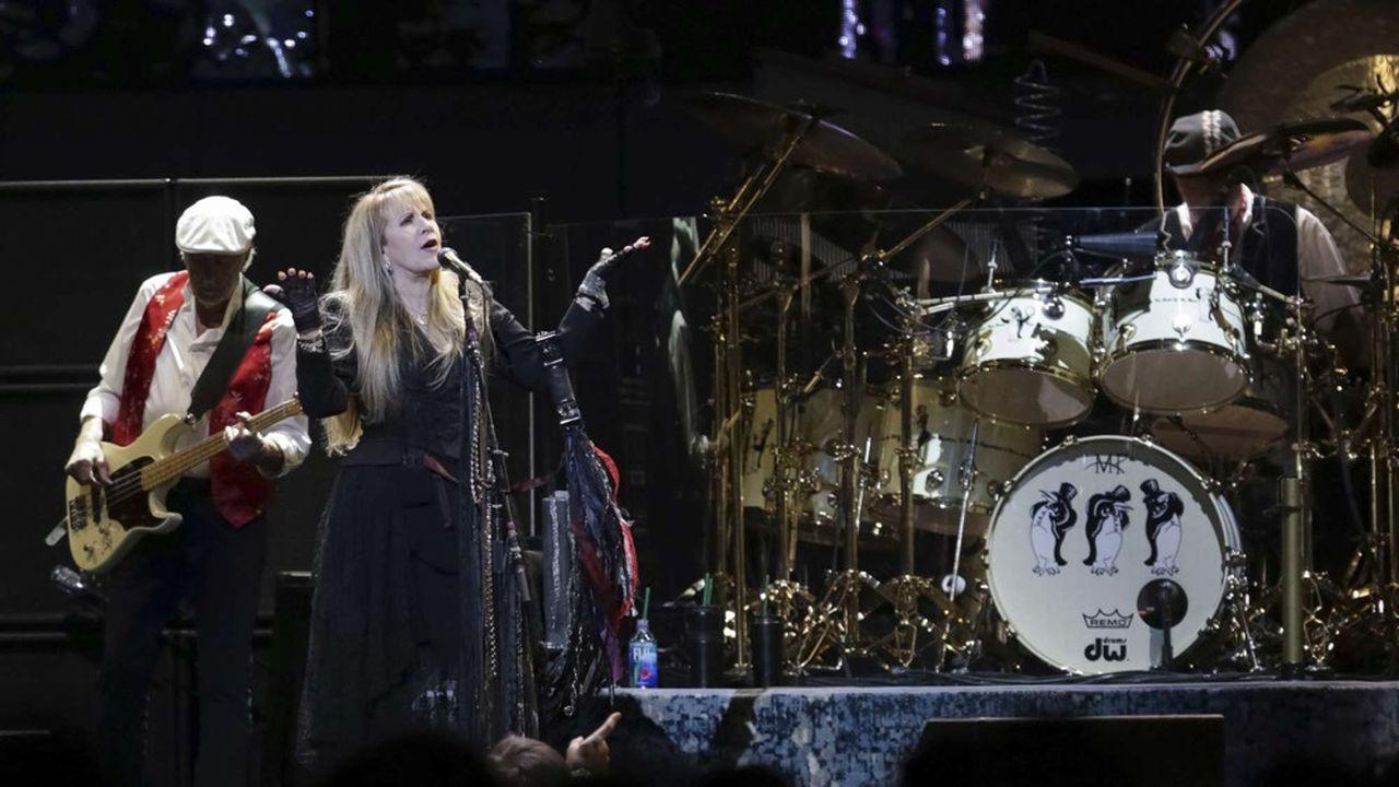 Fleetwood Mac, une des «superstars mondiales» de la maison de disques Warner Music avec Ed Sheeran, Bruno Mars, Michael Bublé, Cardi B, Kelly Clarkson, Coldplay, David Guetta, Dua Lipa, Neil Young, Prince, Pink Floyd, David Bowie, Phil Collins, Tom Petty et les Smiths.