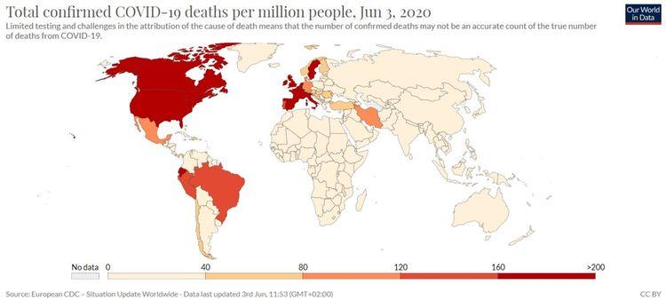 Les pays émergents moins frappés par la Covid-19