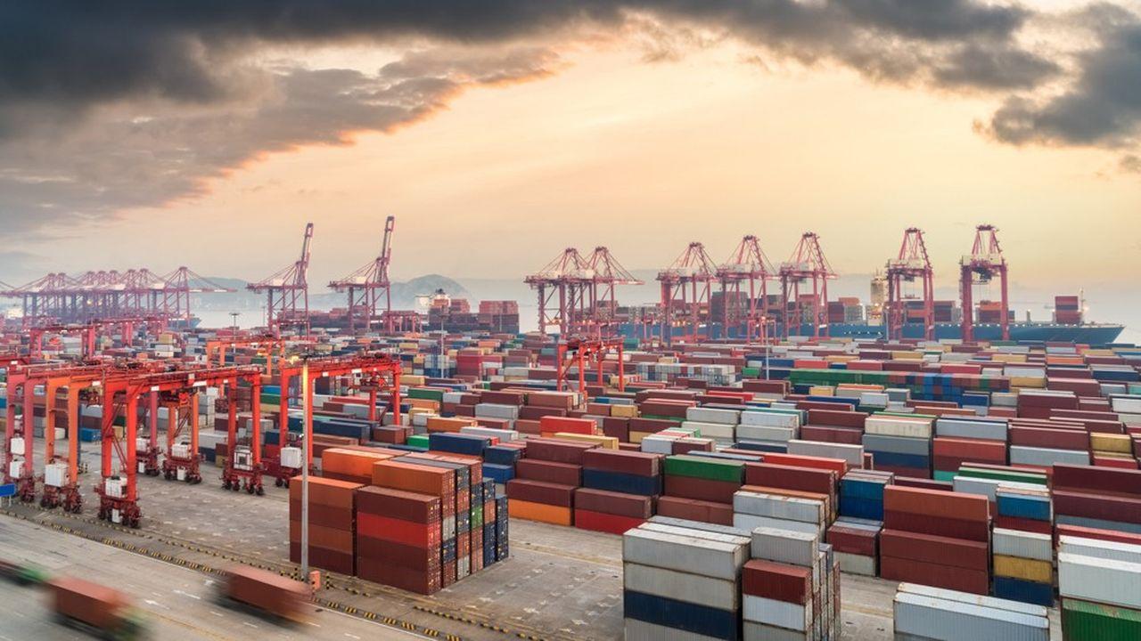 Le terminal à conteneurs de Shanghai, en Chine.