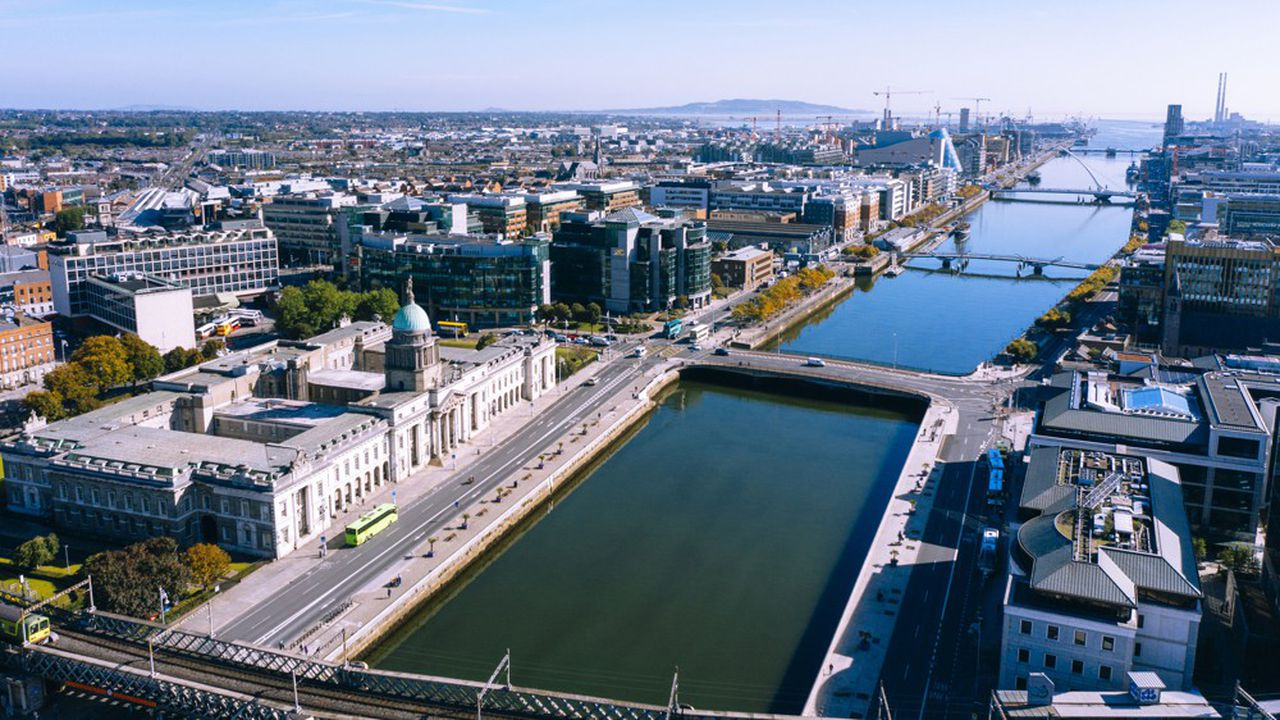 Dublin, en Irlande.