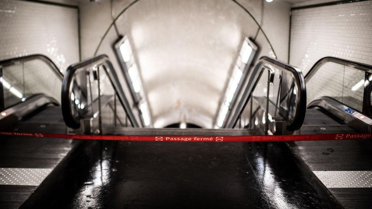 Une soixantaine de stations parisiennes sont toujours fermées.