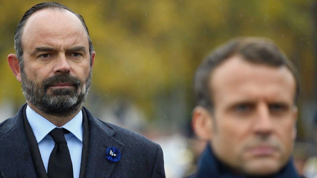 Dans le baromètre Elabe pour «Les Echos» et Radio Classique, la cote d'Edouard Philippe atteint 39% contre 33% pour celle d'Emmanuel Macron. Un écart inédit dans le quinquennat.