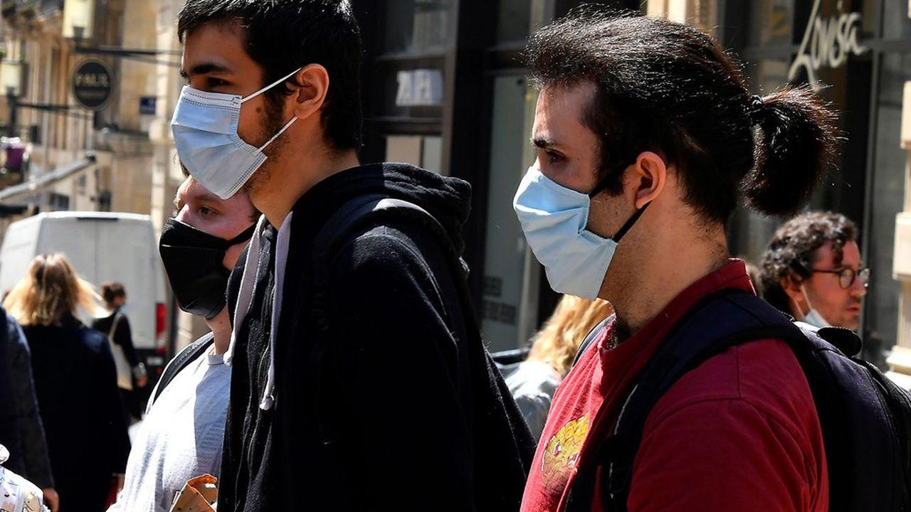 Le remboursement des masques par l'Etat est plus proche de 30% que des 50% promis selon les maires.