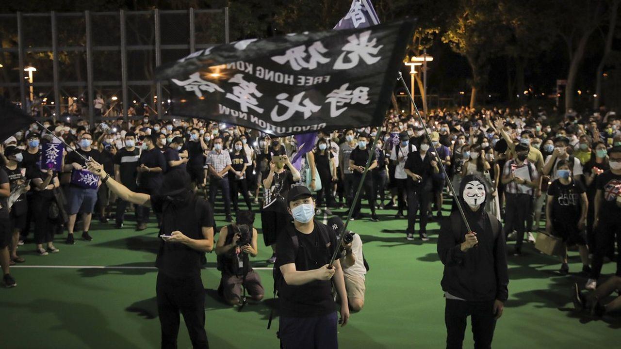 C'est la première fois que des heurts sont signalés lors de cette veillée organisée chaque année à Hong Kong depuis trente ans.