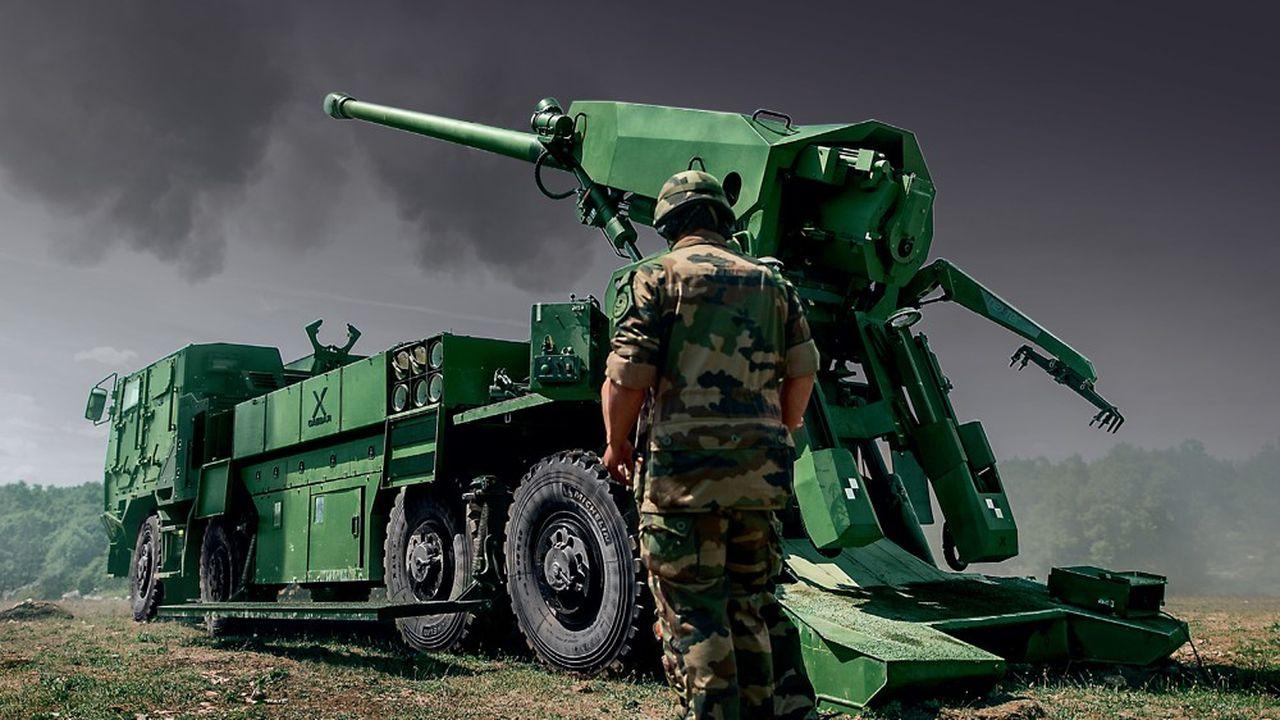 Le système d'artillerie Caesar mis au point en 2008 pour l'armée de terre française a désormais deux clients européens: le Danemark et la République Tchèque