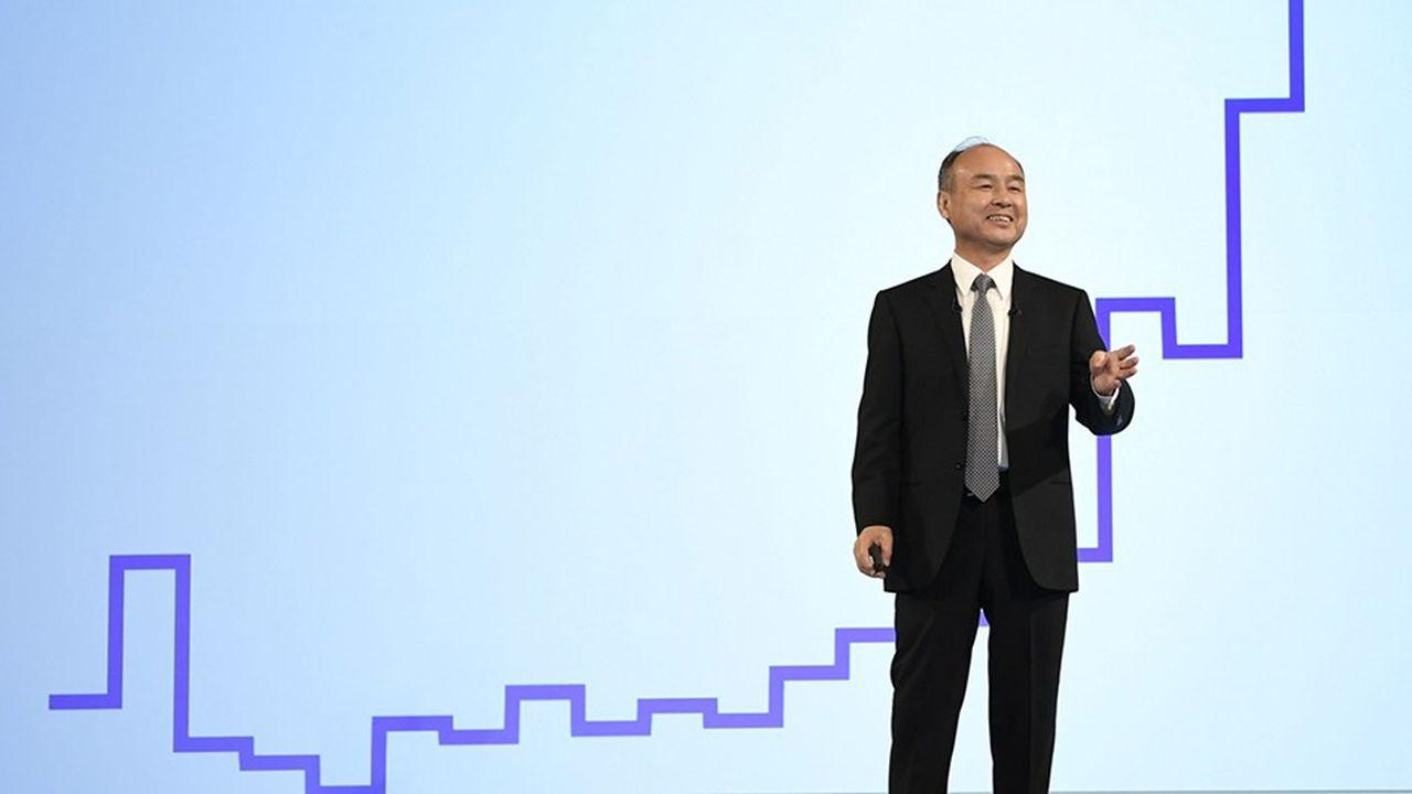 Masayoshi Son, PDG-fondateur de SoftBank, et initiateur du mégafonds Vision Fund.