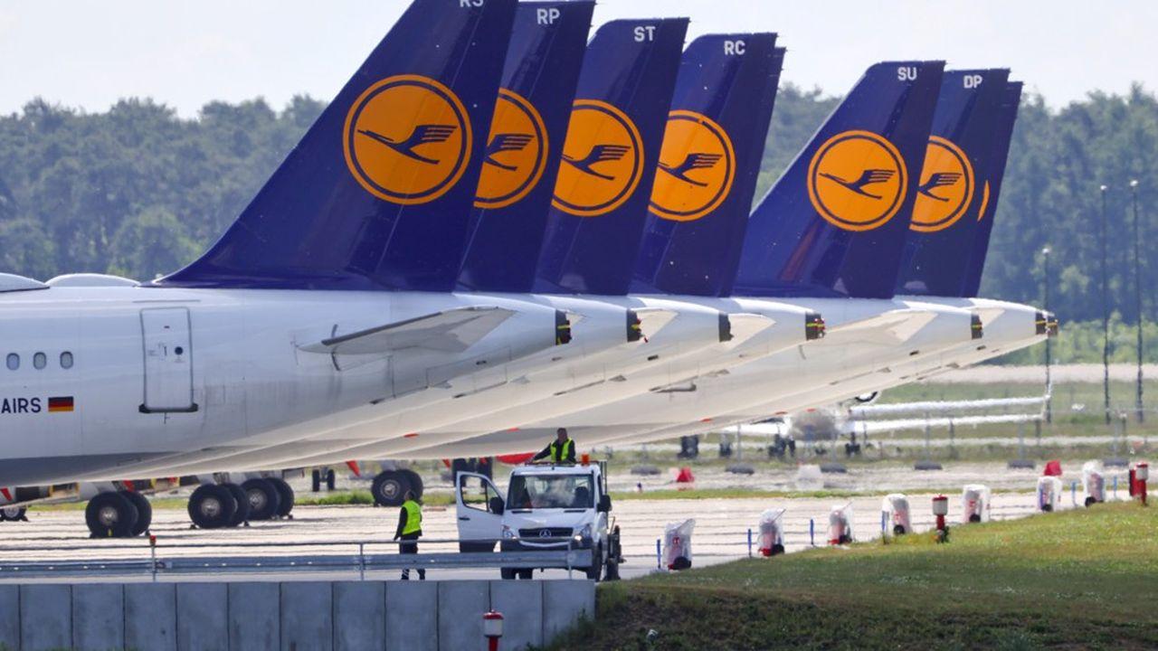 Lufthansa a reçu un prêt garanti par la banque publique allemande KfW de 3 milliards d'euros.