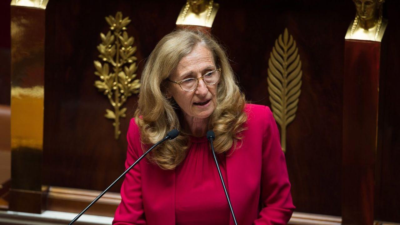 Nicole Belloubet, la ministre de la Justice, a préparé les juridictions commerciales et judiciaires, à affronter la vague des défaillances d'entreprises.