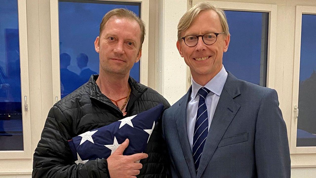 Michael White, un ex-militaire américain, a été libéré par l'Iran.