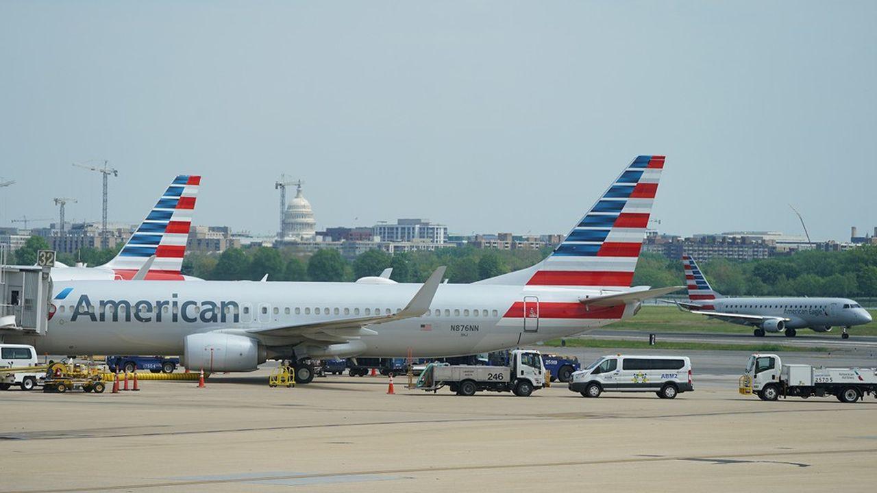La capacité prévue par American Airlines en juillet de cette année sera équivalente à 40% de celle de 2019, au lieu de 30% en juin.