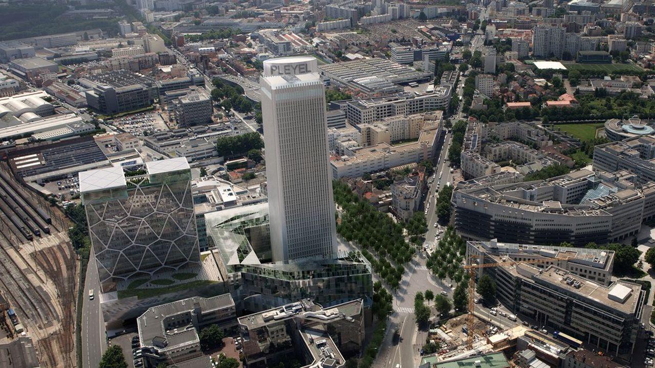 Le groupe allemand H-Hotels a signé pendant le confinement pour l'exploitation de cet hôtel de 700 chambres 4 étoiles.