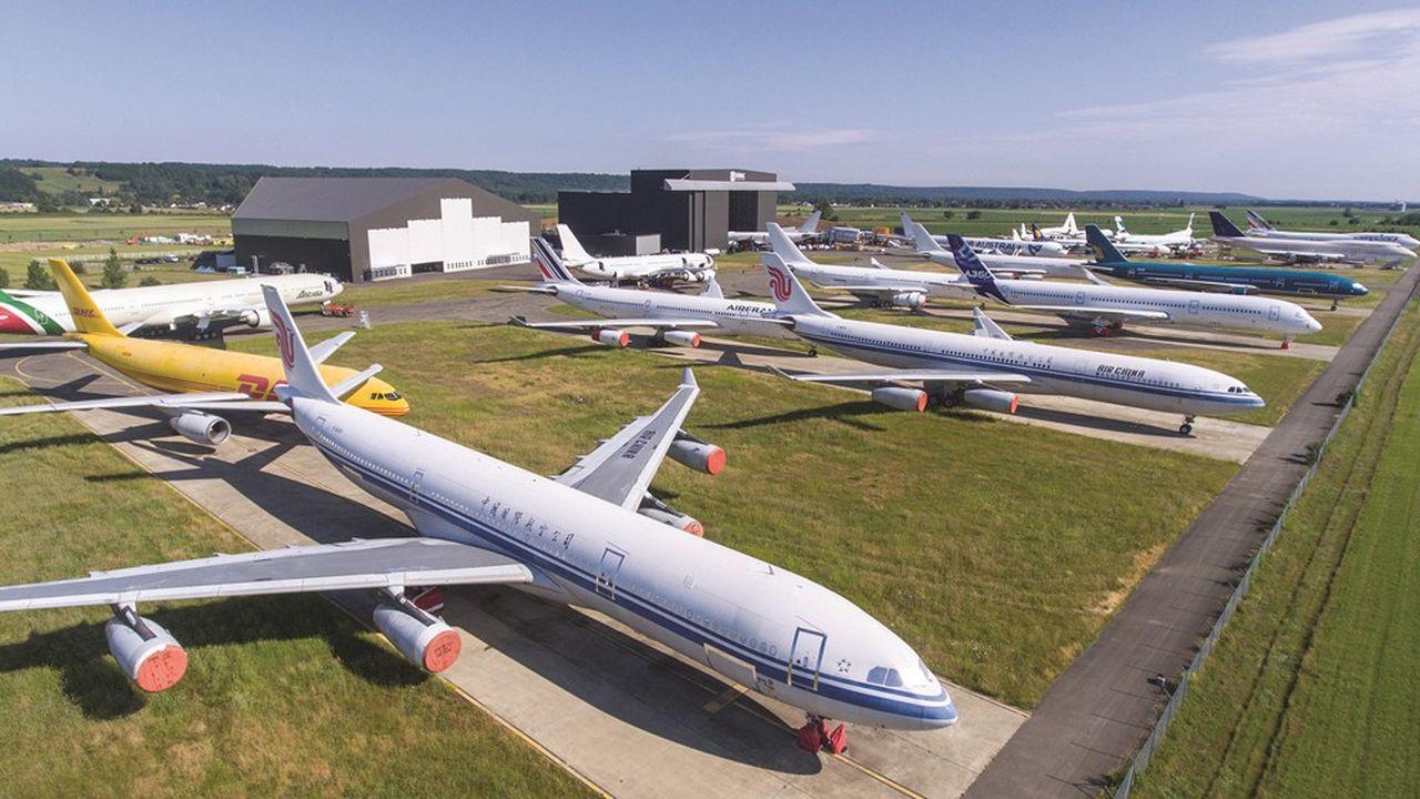 Depuis le début de l'année, la société est passée de 150 à 200 avions sur ses trois sites de Tarbes, Toulouse Francazal et Teruel, en Espagne.