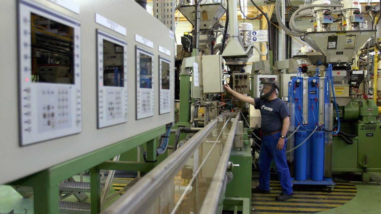Hutchinson compte 89 sites de production dans le monde, dont 25 en France (ici à Moirans, en Isère).