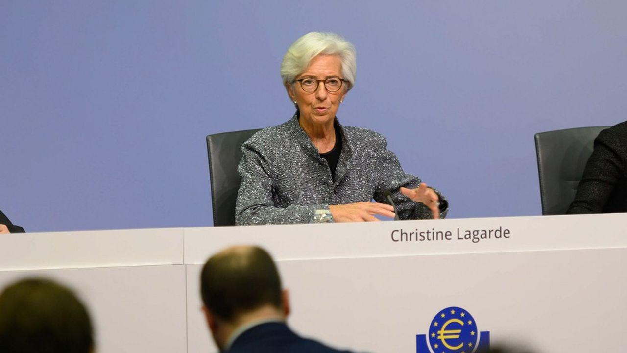 Christine Lagarde, la présidente de la Banque centrale européenne, affronte la dépression économique et la menace de la déflation