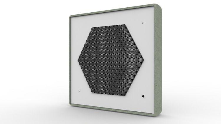 L'hygiaphone directionnel permet une bonne communication malgré la distance, le masque ou la vitre de séparation.