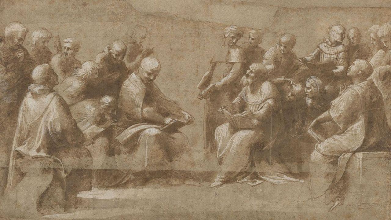 Les divins Raphaël de Chantilly