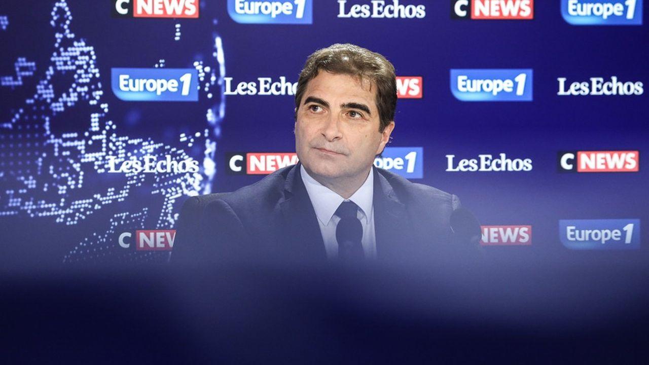Le patron des Républicains, sur le plateau dimanche du Grand Rendez-vous Europe1-CNews- «Les Echos».