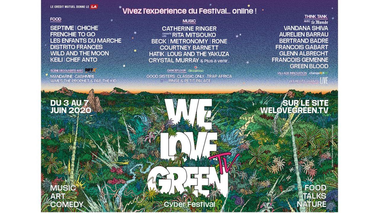 We Love Green TV réinvente le festival écolo et se veut elle aussi durable