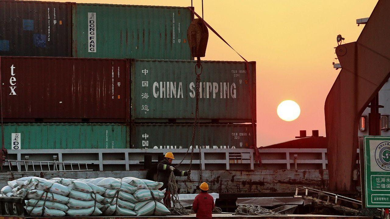 Après un rebond en avril, les exportations chinoises ont de nouveau chuté en mai.