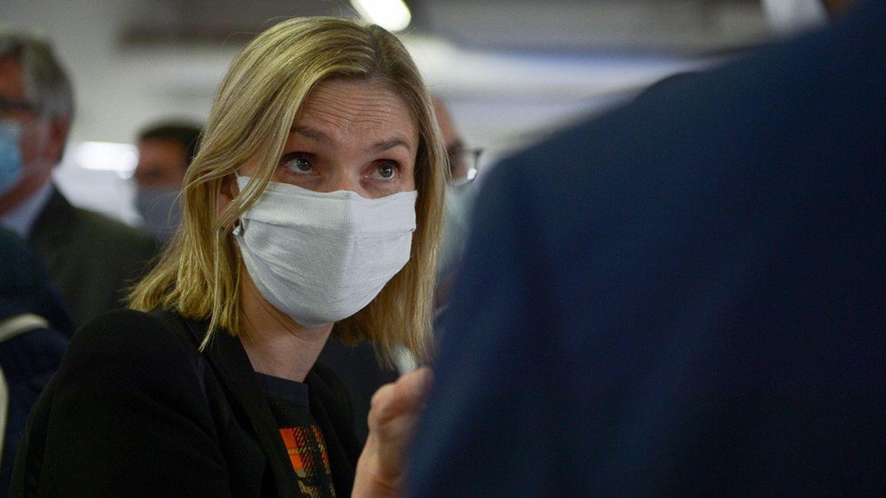 «L'Etat a passé des commandes vers des masques 100% français», a indiquéla secrétaire d'Etat à l'Economie, Agnès Pannier-Runacher.