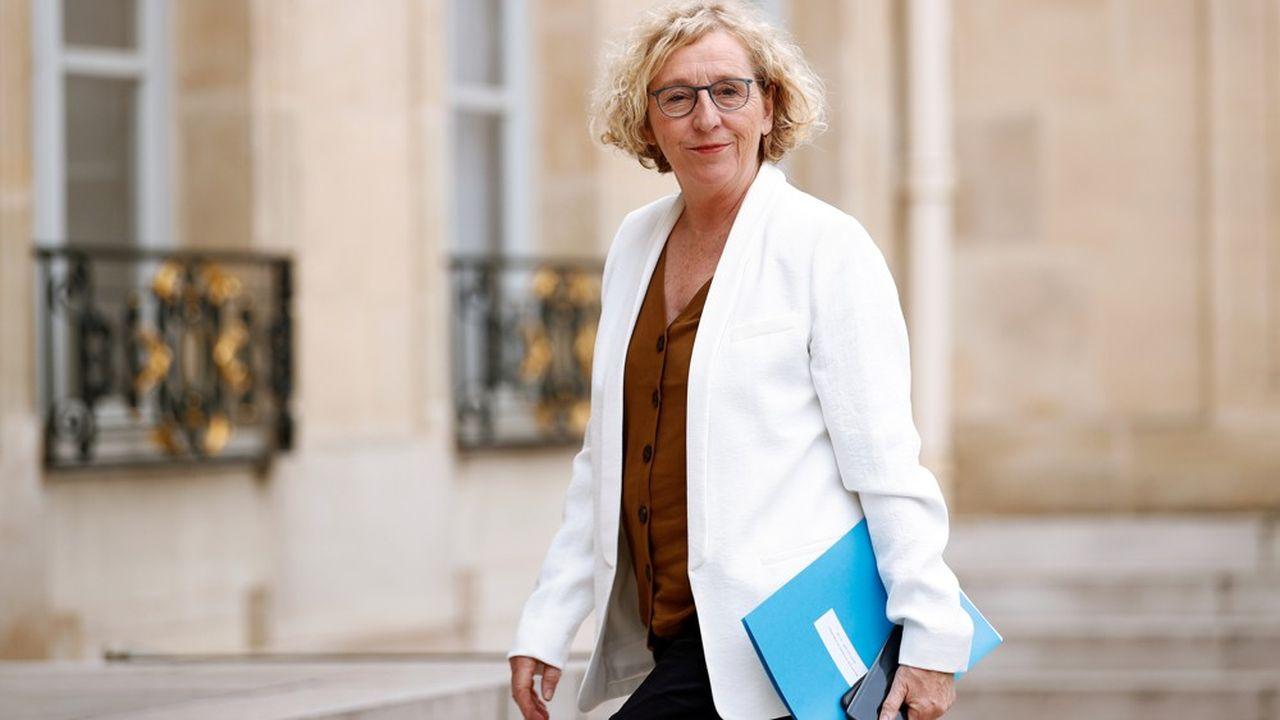 Quelque 8,6millions de Français étaient encore en chômage partiel en avril, a indiqué Muriel Pénicaud.