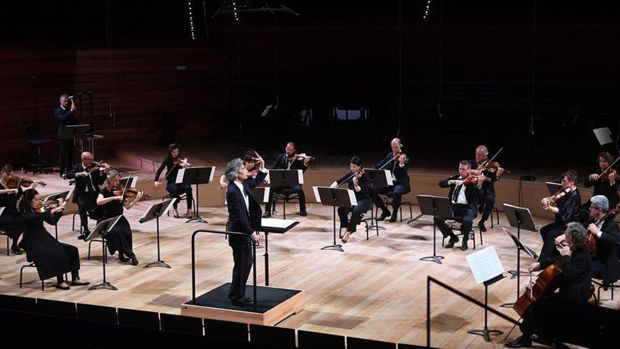 Dirigé par Kent Nagano, le concert d'ouverture, samedi 6juin, avec distanciation d'usage…
