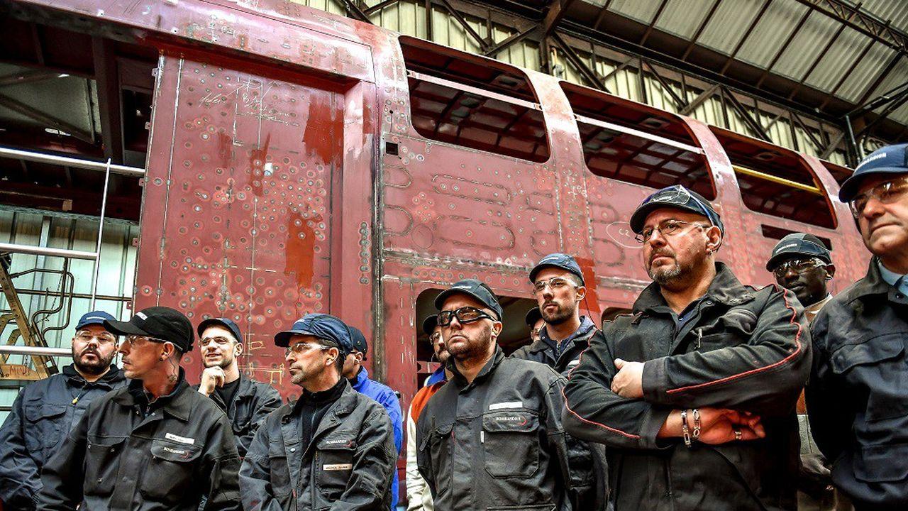 L'usine de Crespin est le premier site industriel ferroviaire en France, avec 1.500 salariés.