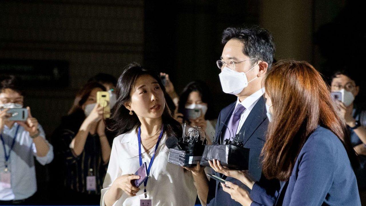Les procureurs qui enquêtent sur des malversations financières commises par le groupe en 2015 avaient demandé l'incarcération de l'héritier de la famille Lee, qui contrôle Samsung depuis sa fondation.