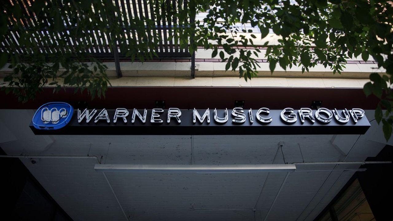 Le numéro trois de l'industrie musicale a fait une entrée très remarquée au Nasdaq.