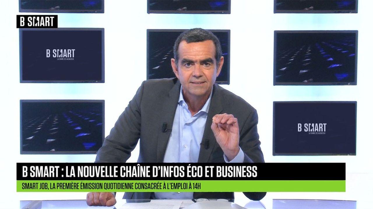 Stéphane Soumier, président de BSmart, lancée le 16juin prochain.